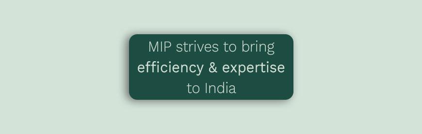 MIP in India