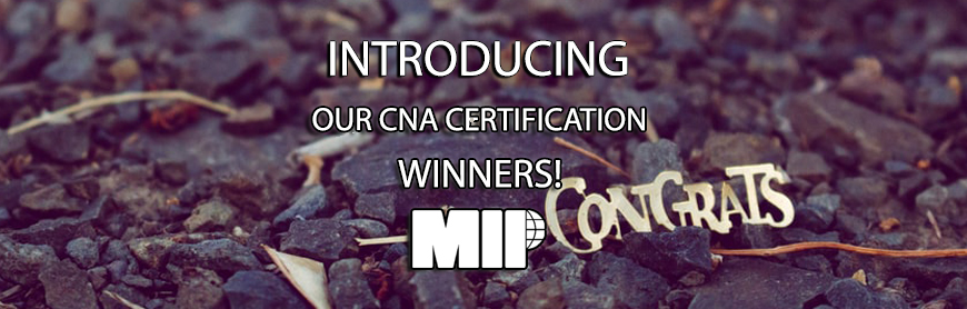 CNA certification winners