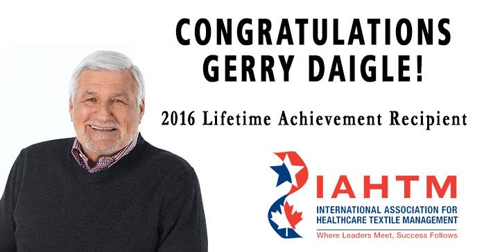 IAHTM Names Gerry Daigle of MIP Inc. Its '2016 Lifetime Achievement' Recipient