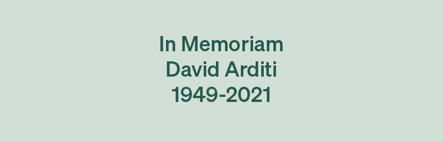 David Arditi - RIP