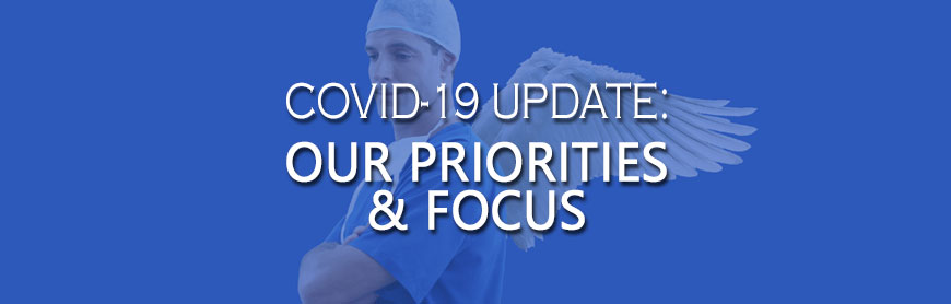 priorities, focus, covid19, mips commitment